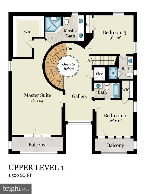 Upper Level 1 - 2344 S ST NW, WASHINGTON