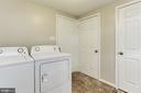Laundry Room - 115 BILLINGSGATE LN, GAITHERSBURG