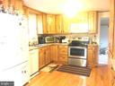 Kitchen. - 406 OAKRIDGE DR, STAFFORD
