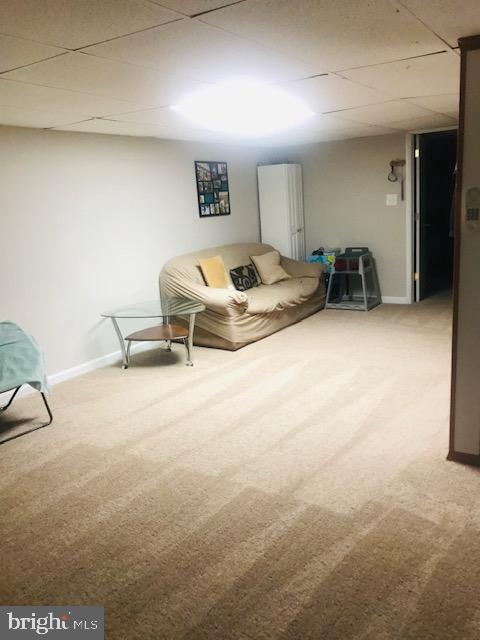 Basement Living area. - 406 OAKRIDGE DR, STAFFORD