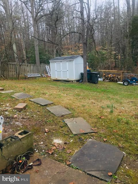 Back yard - 406 OAKRIDGE DR, STAFFORD
