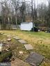 Back Yard. - 406 OAKRIDGE DR, STAFFORD