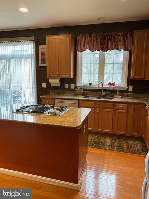 Kitchen with Granite Countertops and Stainless App - 15201 HUMBOLT BAY CT, GAINESVILLE