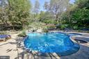 In Ground Pool & Water Fall Feature - 12466 KONDRUP DR, FULTON