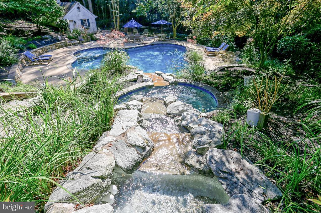 Water Fall Feature and In Ground Pool - 12466 KONDRUP DR, FULTON