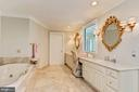 Spa-Like Master Bathroom - 12466 KONDRUP DR, FULTON