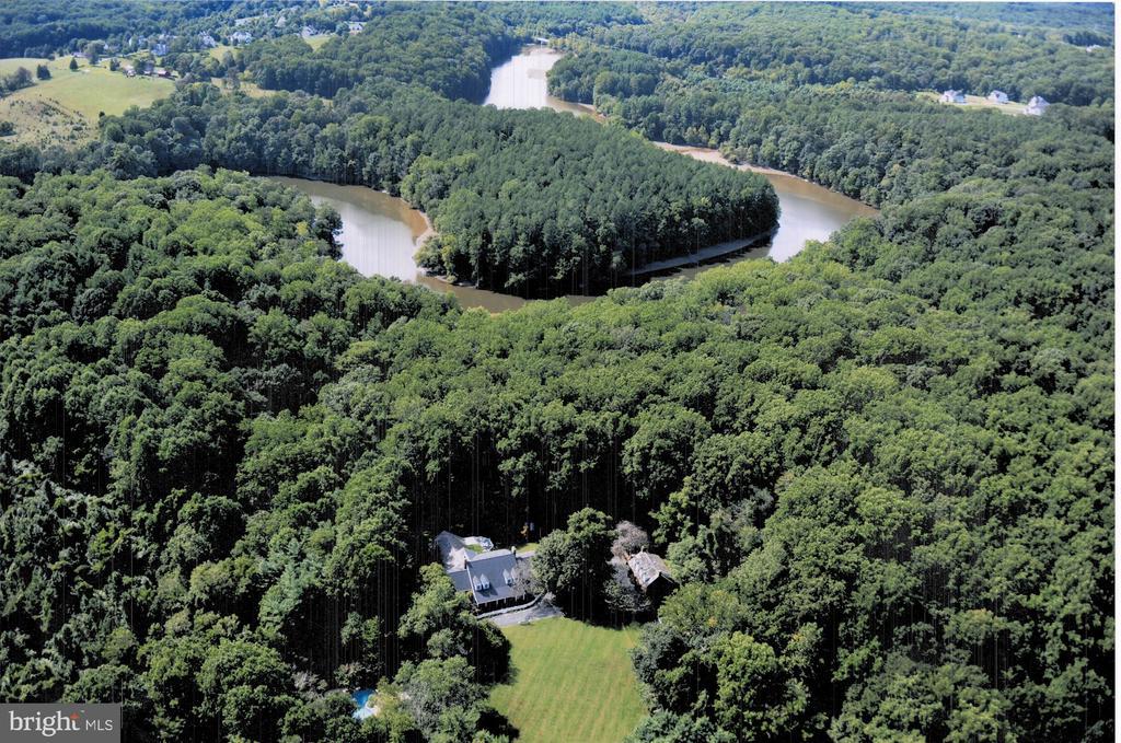 Aerial View - 12466 KONDRUP DR, FULTON