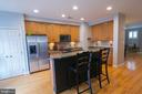 See the kitchen space - 147 HERNDON MILL CIR, HERNDON