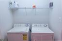 Upstairs laundry - 147 HERNDON MILL CIR, HERNDON