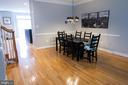 Dining area continues from Living Room - 147 HERNDON MILL CIR, HERNDON