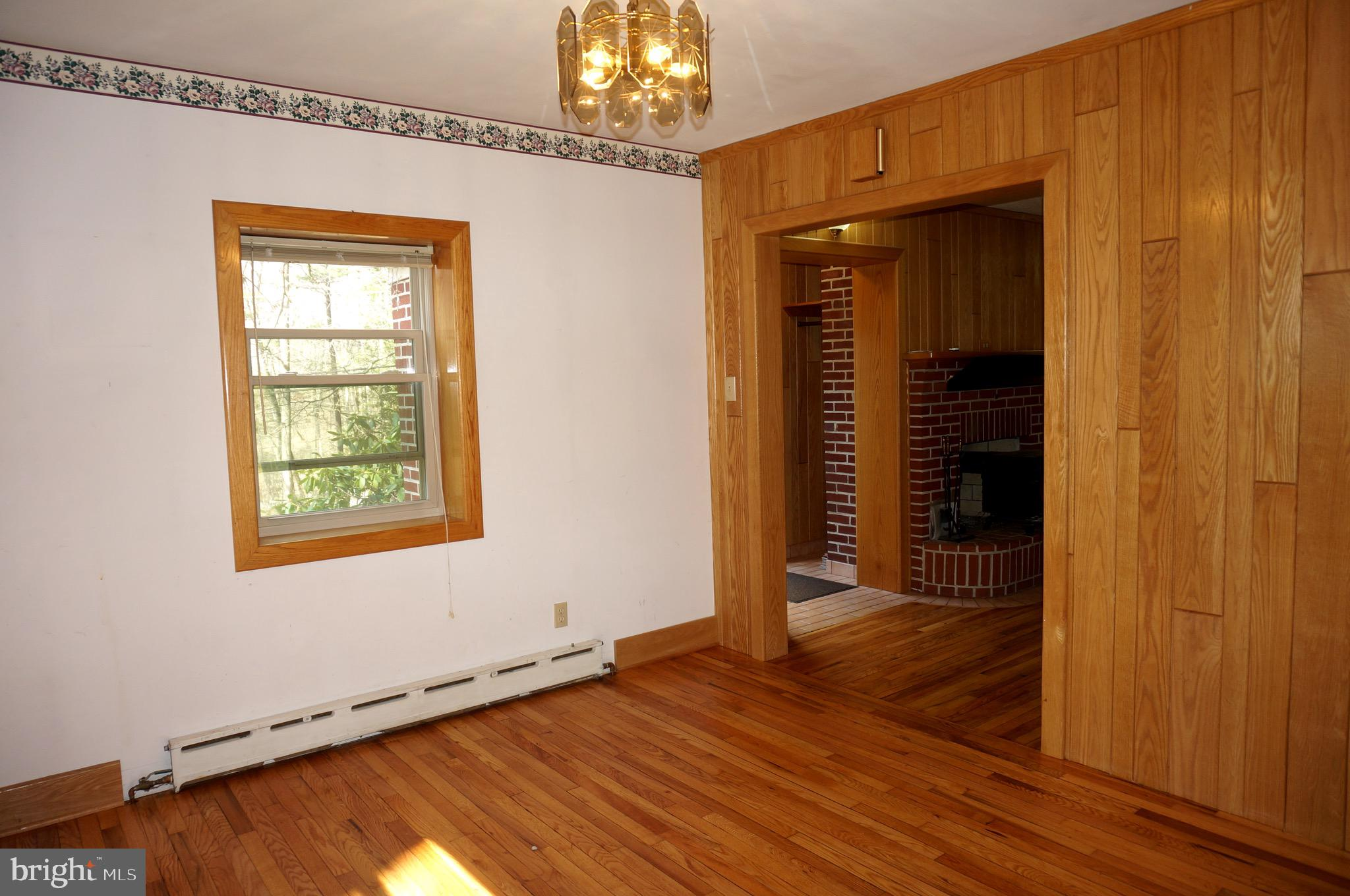 Dining Room into Front Entry Hall