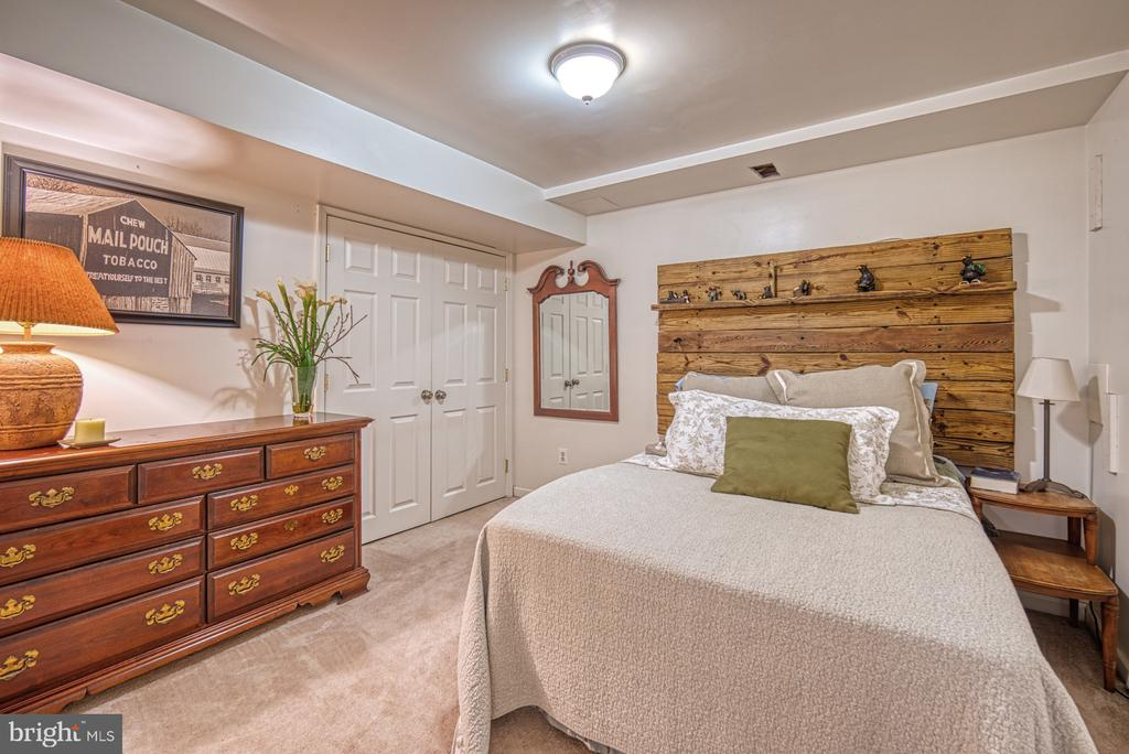 Lower level bedroom - 12224 PINE PARK CT, FAIRFAX