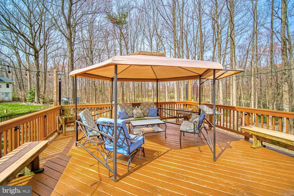 Fabulous outdoor entertaining - 12224 PINE PARK CT, FAIRFAX