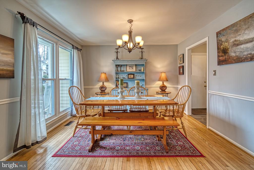 Separate dining room - 12224 PINE PARK CT, FAIRFAX