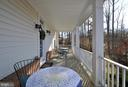 Beautiful Covered Side Porch! - 10026 WILLOW RIDGE WAY, SPOTSYLVANIA