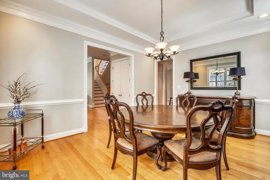 Dining Room - 7731 OLDCHESTER RD, BETHESDA