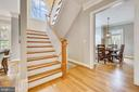 Staircase to Upper Levels - 7731 OLDCHESTER RD, BETHESDA