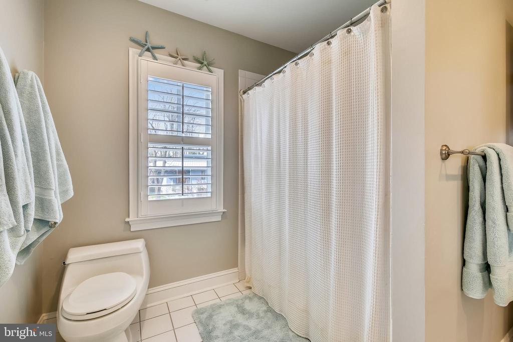 Full Bathroom with shower/tub - 7731 OLDCHESTER RD, BETHESDA