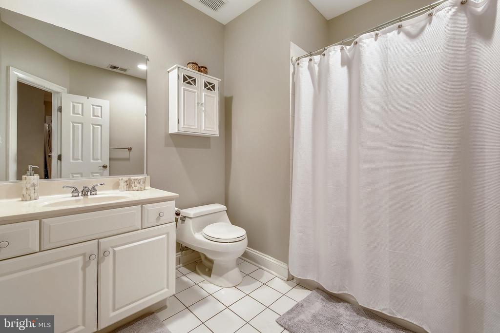 Lower Level Full Bath - 7731 OLDCHESTER RD, BETHESDA