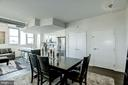Open dining & kitchen - 3409 WILSON BLVD #602, ARLINGTON