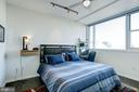 Serene king-size master bedroom - 3409 WILSON BLVD #602, ARLINGTON