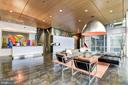 Stunning contemporary ARC 3409 lobby - 3409 WILSON BLVD #602, ARLINGTON