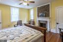 1st  Floor master with attached bath - 3374 TWYMANS MILL RD, ORANGE