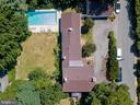 Great aerial view! - 308 KING ST, LEESBURG