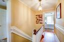 The upstairs hall shines - 504 POPLAR RD, FREDERICKSBURG