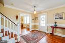 Gleaming hardwood floors shine - 504 POPLAR RD, FREDERICKSBURG