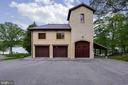 3 can garage with office/studio above - 3182 HARNESS CREEK RD, ANNAPOLIS