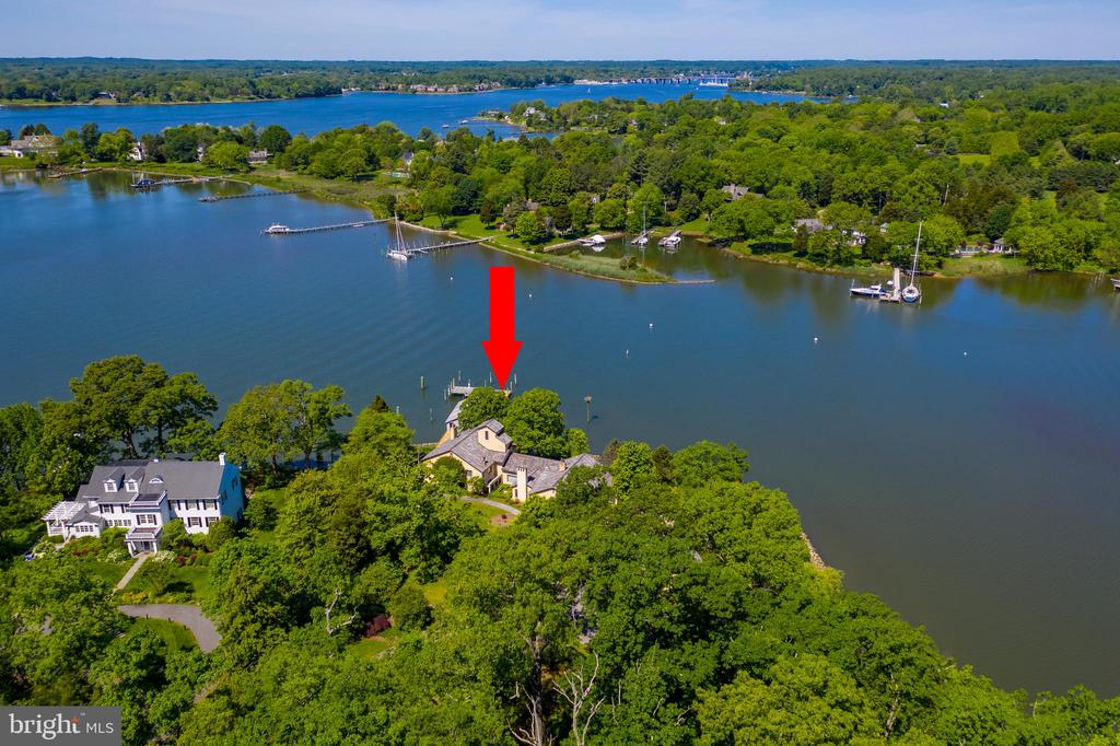 Protected deep water - 3182 HARNESS CREEK RD, ANNAPOLIS