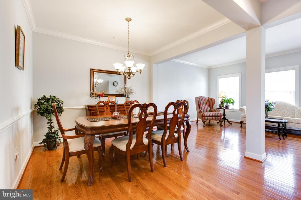 Formal Dining Room - 2021 CRESCENT MOON CT #23, WOODSTOCK