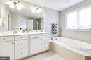 Master Bathroom - 2021 CRESCENT MOON CT #23, WOODSTOCK