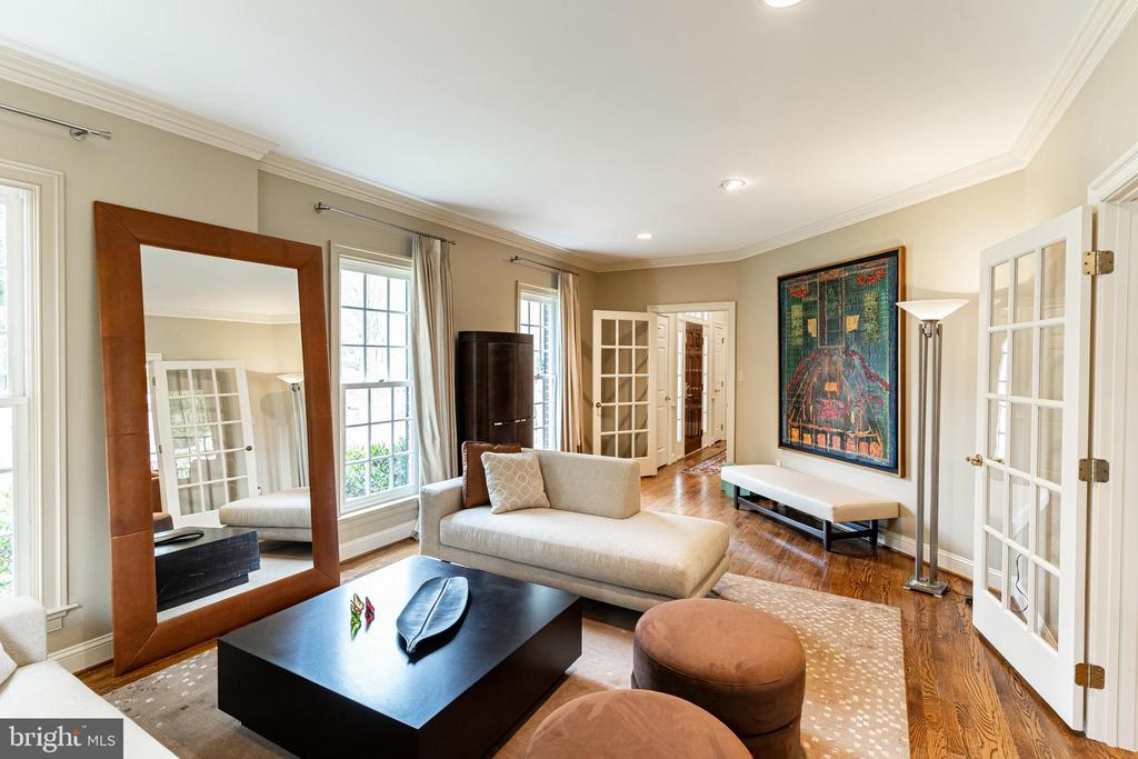 Formal Living Room - 7000 FAWN TRAIL CT, BETHESDA