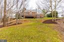 View of the Rear Exterior - 7000 FAWN TRAIL CT, BETHESDA