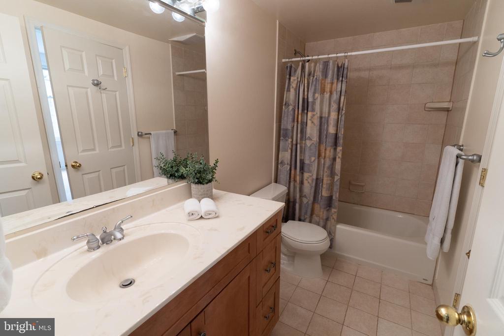 Lower Level Full Bath #4 - 7000 FAWN TRAIL CT, BETHESDA