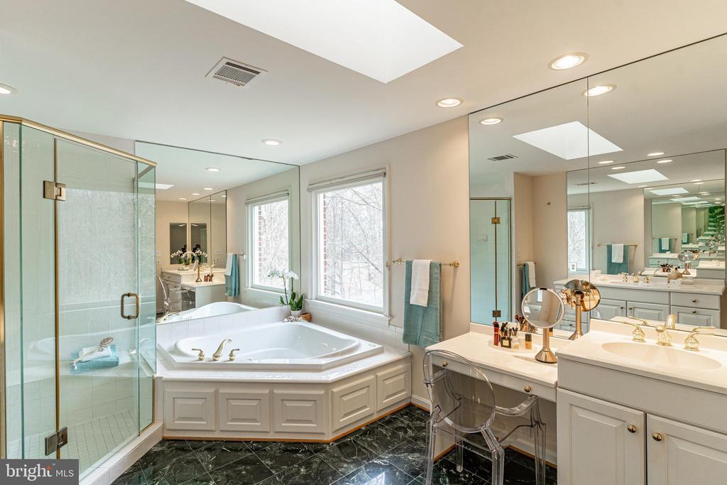 Owner's Luxurious Bath - 7000 FAWN TRAIL CT, BETHESDA