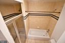 Shower and Tub - 400 MASSACHUSETTS AVE NW #1007, WASHINGTON