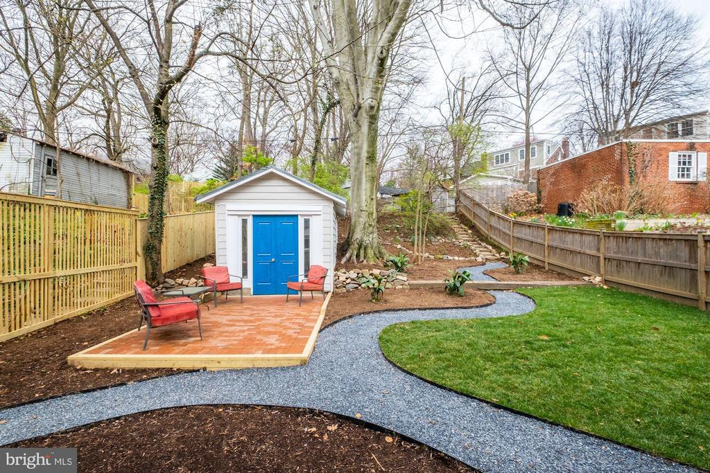 New Landscaping - 5440 NEBRASKA AVE NW, WASHINGTON