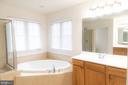 Master Bathroom - Sunken Tub - 1689 WINTERWOOD CT, HERNDON
