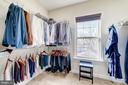 Two large walk-in closets! - 6204 BERNARD AVE, ALEXANDRIA