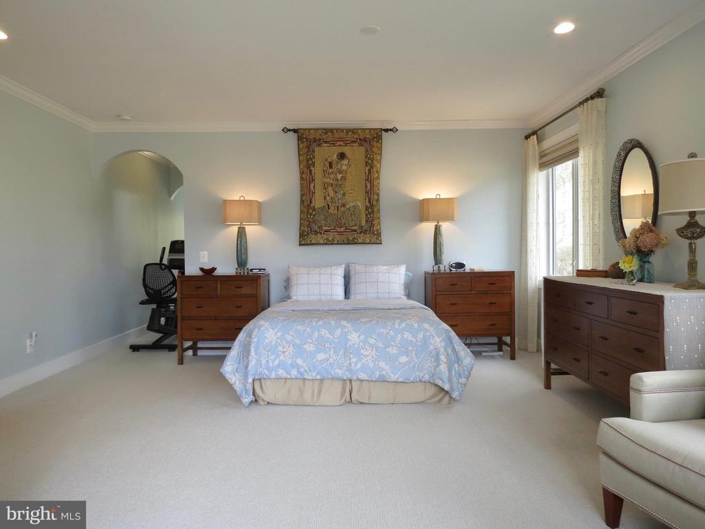 Main floor Master,  hall to bath & walk-in closet - 335 FODDERSTACK RD, WASHINGTON