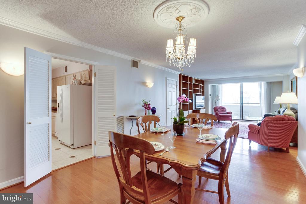 Dining Room - 1800 OLD MEADOW RD #1106, MCLEAN