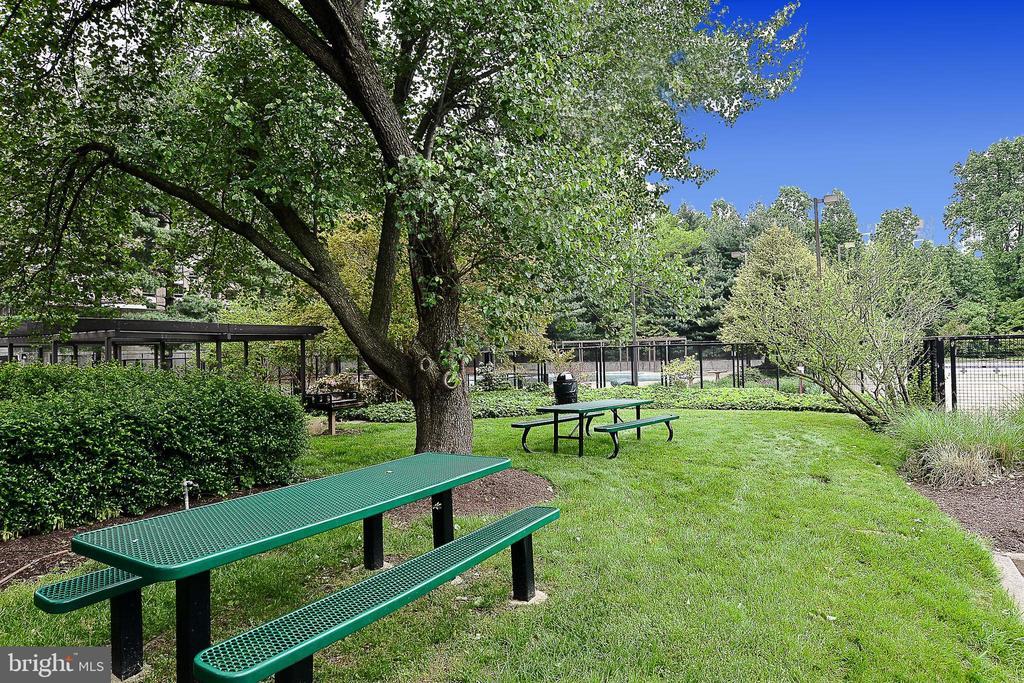 Park setting - 1800 OLD MEADOW RD #1106, MCLEAN
