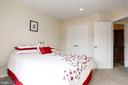 Second bedroom upstairs - 8110 MADRILLON SPRINGS LN, VIENNA
