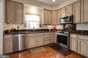 Renovated kitchen! - 8110 MADRILLON SPRINGS LN, VIENNA