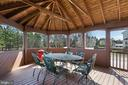 Enjoy the .47 Acre Backyard on Your Screened Porch - 21946 HYDE PARK DR, ASHBURN