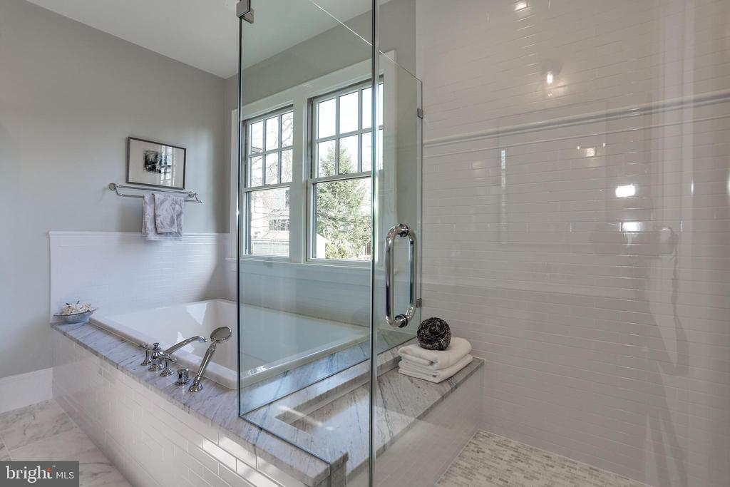 oversized shower with rain and hand held shower - 5010 25TH RD N, ARLINGTON