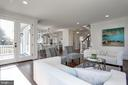 excellent flow for entertaining and daily living - 5010 25TH RD N, ARLINGTON